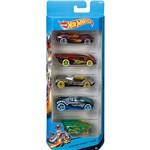 Hot Wheels Pacote 5 Carros 0186/CDT15 Nitrobot Attack - Mattel
