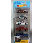 Hot Wheels Pacote 5 Carros - Car Meet 1806 - Mattel