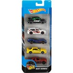 Hot Wheels Pacote 5 Carros Crazy Croc - Night Burnerz 1806/DJD30 - Mattel