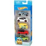 Hot Wheels Pacote 5 Carros Crazy Croc Volskwagem - Mattel