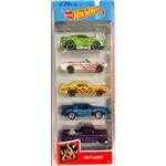 Hot Wheels Pacote 5 Carros - Hw Flames 1806 - Mattel