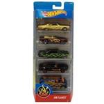 Hot Wheels Pacote 5 Carros - HW Flames - Mattel Hot Wheels Pacote 5 Carros - Exotics - Mattel