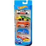 Hot Wheels Pacote 5 Carros Pescue Racers - Mattel