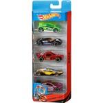 Hot Wheels Pacote 5 Carros Spin Storm - Mattel