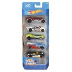 Hot Wheels Pacote 5 Carros - Track Builder Djf89 - Mattel
