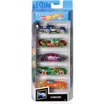 Hot Wheels Pacote 5 Carros - X Raycers 1806 - Mattel