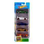 Hot Wheels Pacote Presente com 5 Carros Exotics - Mattel