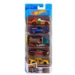 Hot Wheels Pacote Presente com 5 Carros Metro - Mattel