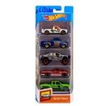 Hot Wheels Pacote Presente com 5 Carros Trucks - Mattel