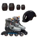 Hot Wheels Patins Ajustáveis com Acessórios Numero 37 a 40 - Intek