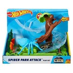 Hot Wheels Pista Ataque da Aranha no Parque City - Mattel