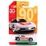 Hot Wheels Retrô Aniversário 50 Anos '97 Corvette - Mattel