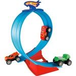 Hot Wheels Rev Ups - Pista Super Loop - Mattel