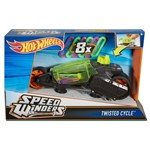 Hot Wheels Speed Winders Moto Giro Verde - Mattel