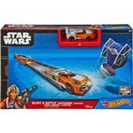 Hot Wheels Star Wars Car Launcher Asment Luke Skywalker - Mattel