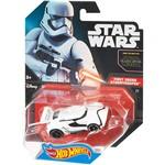 Hot Wheels Star Wars Carros 1:64 Car First Order Stormtrooper - Mattel