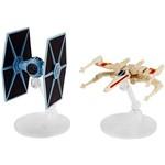 Hot Wheels Star Wars Naves Rogue 1 Pacote 2 R1 Tie Fghtr/X-wing - Mattel