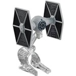 Hot Wheels Star Wars Naves Starship Tie Fighter Grey - Mattel