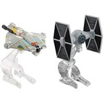 Hot Wheels Star Wars Pacote 2 Naves Ghost Vs Tie - Mattel