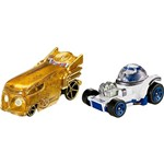 Hot Wheels Star Wars R2D2 e C3PO - Mattel