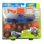 Hot Wheels - Veículos Customizáveis - Snap Rider - Rev Rod - Mattel