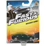 Hot Wheels - Velozes & Furiosos - Carros - Maserati Ghibli - Mattel