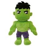 Hulk - Pelúcia Vingadores Marvel - 35 Cm