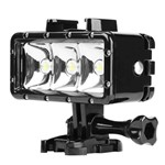 Iluminador Led Estanque para Mergulho 40 Mt Waterproof Video Light Shoot