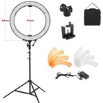 Iluminador Ring Light Led - 48cm com Difusor e Tripé