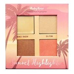 Iluminador Ruby Rose Sunset Highlighter Dark HB7504