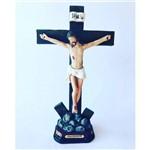 Imagem Resina Escultura Jesus Crucificado 19 Cm