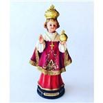 Imagem Resina Escultura Menino Jesus de Praga 20 Cm