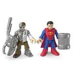 Imaginex Figura Superman e Metallo - M5645/1 - Mattel