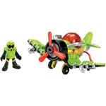 Imaginext Aviões Médios Sky Racer - S.a Stinger - T5308 - Mattel