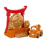 Imaginext Carros 2 - Mate e o Gongo Samurai - Fisher Price
