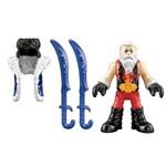 Imaginext Figura com Acessórios Samurai com Espadas - Mattel