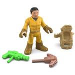 Imaginext Figura e Acessório Explorador com Armas - Fhl70 - Mattel