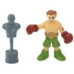Imaginext Figura e Acessório Lutador de Boxe - Fhl75 - Mattel