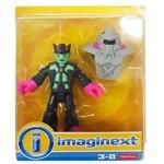 Imaginext Figura e Acessório Personagem Verde com Armadura - Fhl71 - Mattel