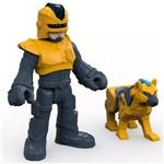 Imaginext Figura e Acessório Policial com Cachorro - Fhl68 - Mattel