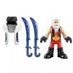 Imaginext Figura e Acessório Samurai Vermelho - Fhl63 - Mattel