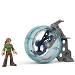 Imaginext Jurassic World - Claire e Giroesfera - Fisher Price