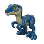 Imaginext - Jurassic World - Filhote Raptor Blue - Fisher-Price