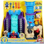 Imaginext - Power Rangers - Base dos Rangers - Mattel DMX64