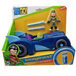 Imaginext - Robin e Batmóvel - Mattel DTM82/FGV82