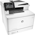 Impressora Multifuncional HP Color Laserjet Pro M477fnw Laser Color