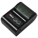 Impressora Térmica Portátil EBOLD IT-580 com Bluetooth Bivolt - Preta