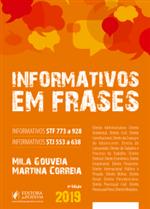 Informativos do STF e STJ em Frases (2019)