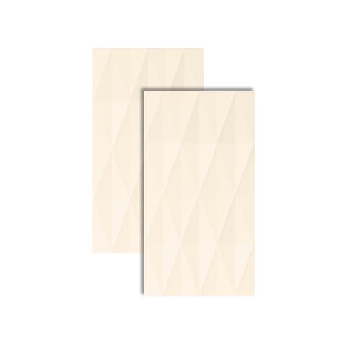 Inserto Prisma Off White Retificado 32x59cm 61190220 - Incepa - Incepa
