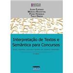 Interpretação de Textos e Semântica para Concursos